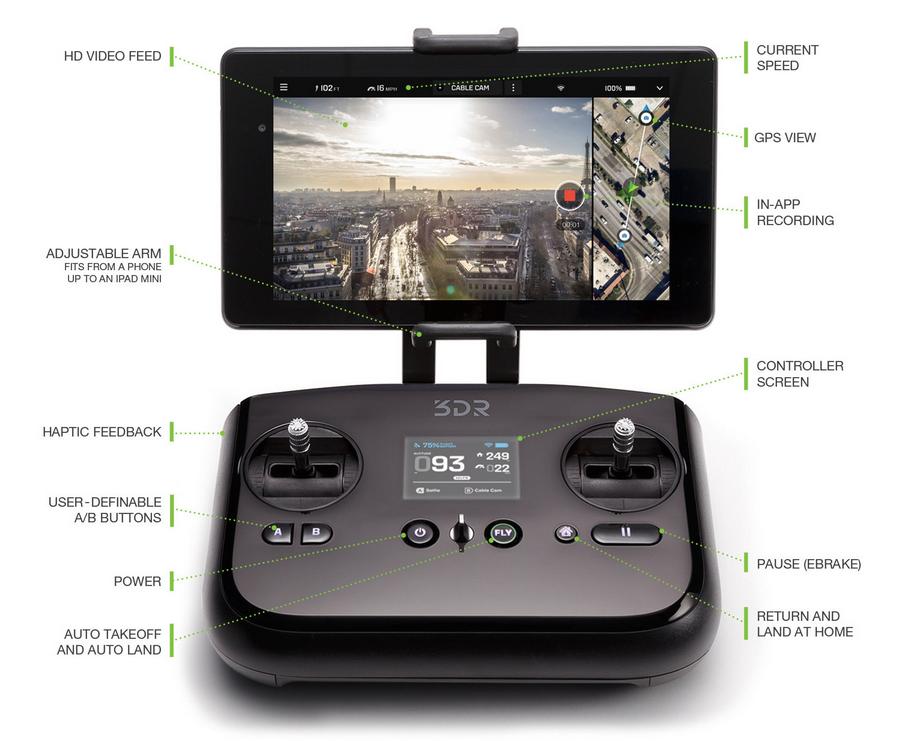 solo-drone-controller